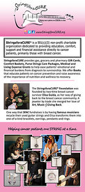 StringsforaCURE Rack Card