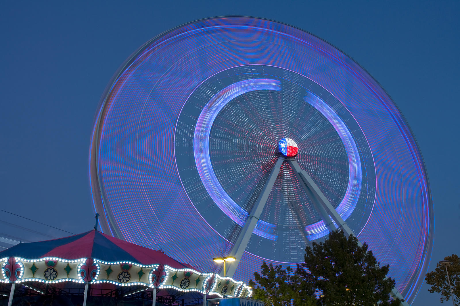 The Texas Star in Motion