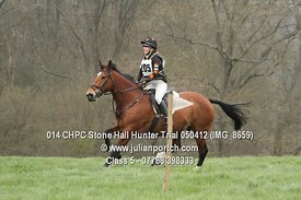 Class 5 - Stone Hall Hunter Trial 2012