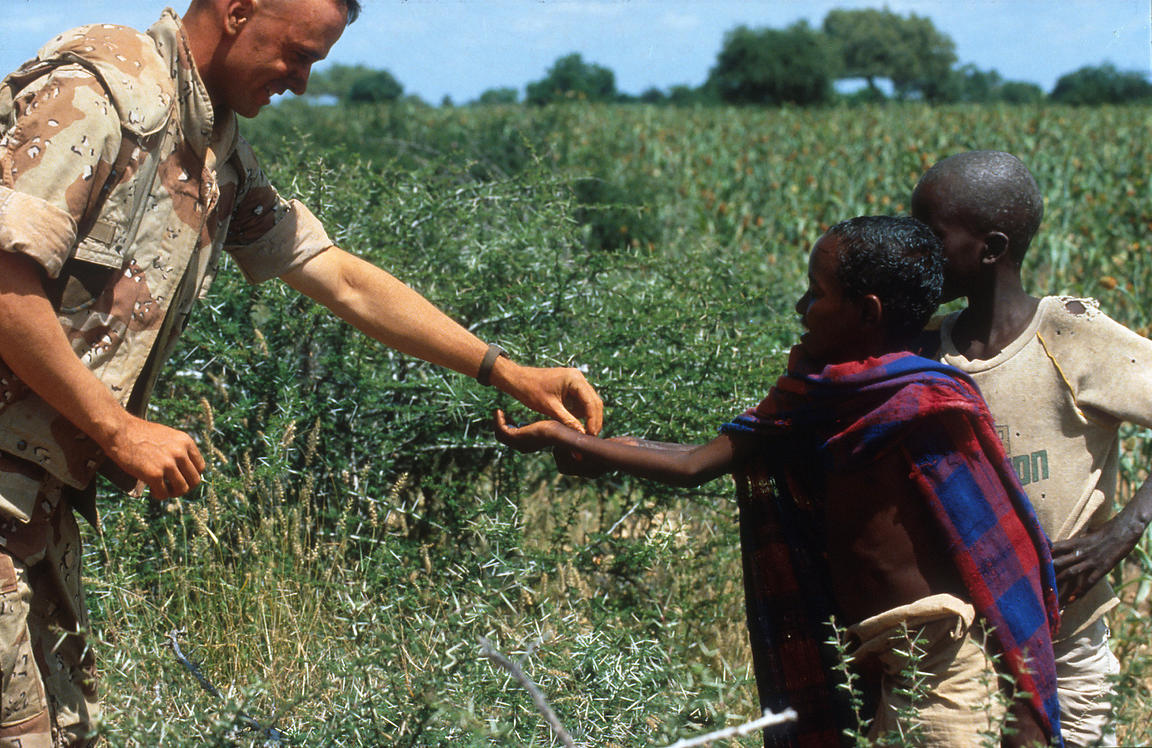 The 1992 Somalia famine
