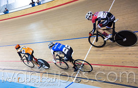 Junior Men Scratch Race. Canadian Track Championships (U17/Junior), April 3, 2016