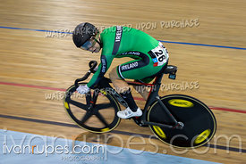 Women's Omnium 2: Tempo Race. Track Cycling World Cup Milton, October 28, 2018