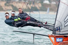 18ft Skiff European Grand Prix, Sandbanks, 20160904172