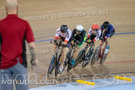 Junior Men Team Pursuit 3-4 Final. Canadian Track Championships (Jr, U17, Para), April 14, 2019