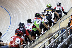 Cat 3 Men Scratch Race. 2016/2017 Track O-Cup #3/Eastern Track Challenge, Mattamy National Cycling Centre, Milton, On, Februa...