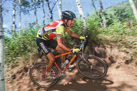 NED OVEREND PARK CITY, UTAH, USA. NORBA NATIONAL POINTS SERIES 1991