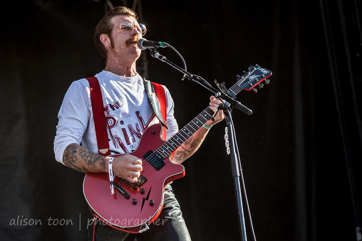 Jesse Hughes, guitar and vocals, Eagles of Death Metal
