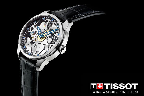 Tissot Squellete Watch