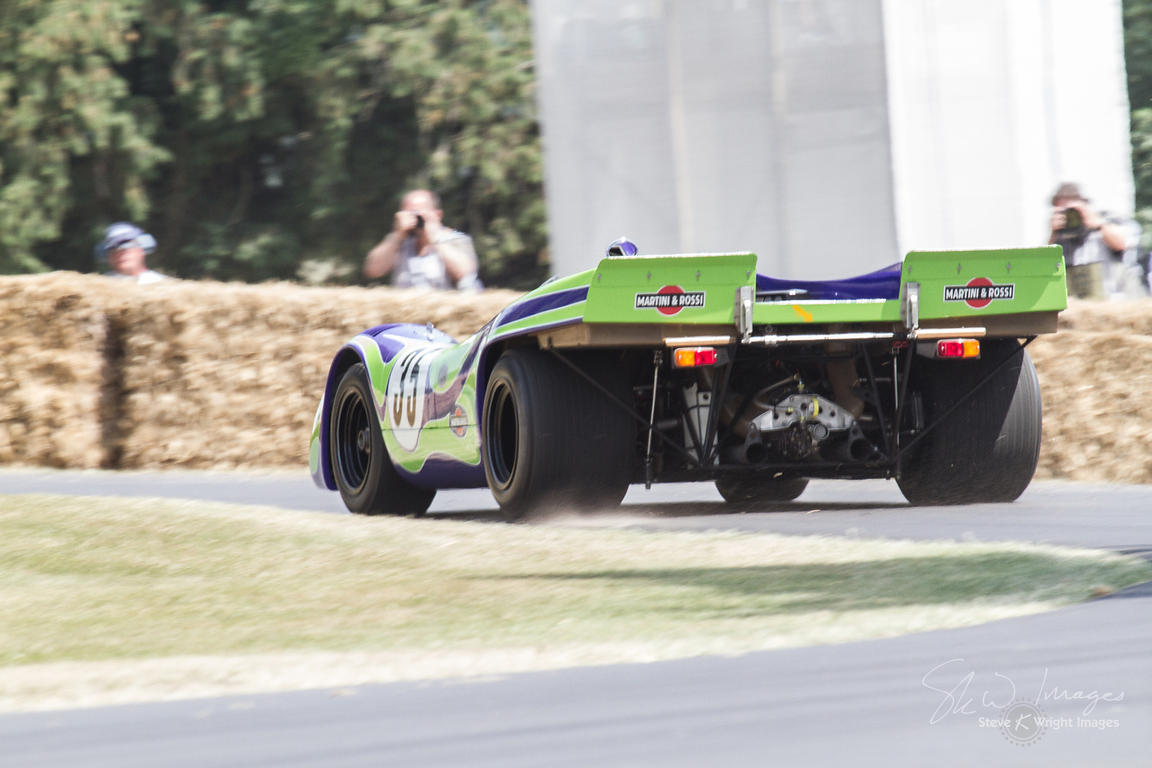 Porsche 917K (4.5-litre flat-12, 1970), Martini Racing on Goodwood Hill - Goodwood Festival of Speed 2013