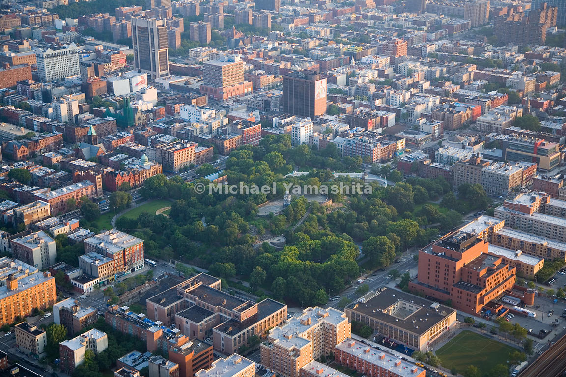 Northeast of Central Park is the Marcus Garvey Memorial Park in Harlem, named for a black nationalist leader prominent in the...