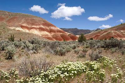 Painted Hills Unit of John Day Fossil Beds, Oregon