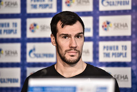Isaias GUARDIOLA of MVM VESZPREM during the Final Tournament - Final Four - SEHA - Gazprom league, Finals press conference Va...