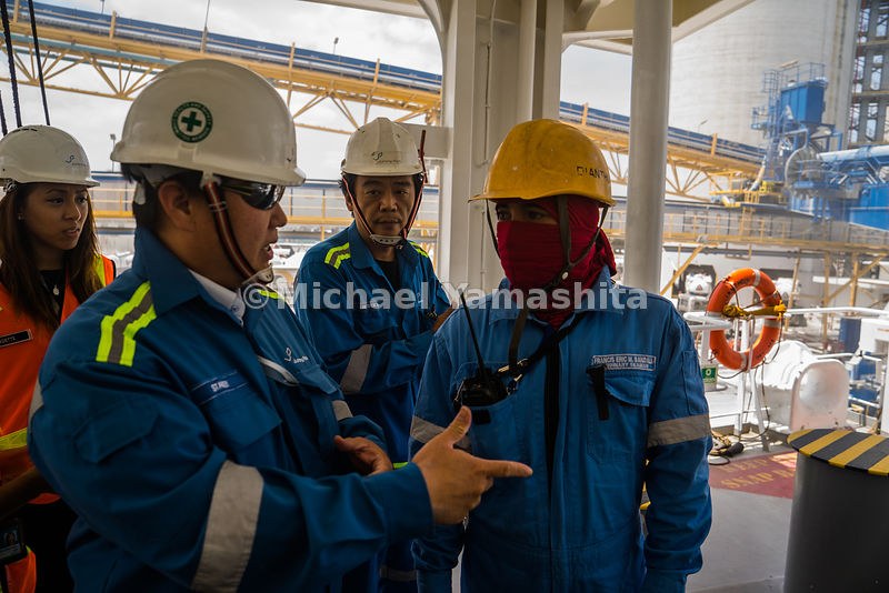 At Jurong Port, regular checks are done onboard vessels to ensure that safety and security protocols are adhered to.