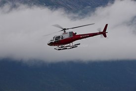 Temsco helicopter Taking off Skagway 3