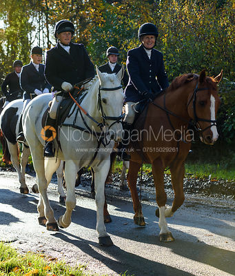 Doone Chatfeild-Roberts near Woolsthorpe. The Belvoir Hunt at the Kennels 13/11