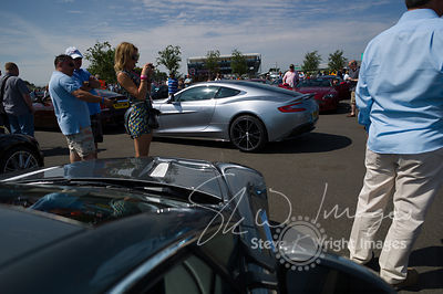 A Sea of Aston Martins - Aston Martin Centenary at the Silverstone Classic 2013