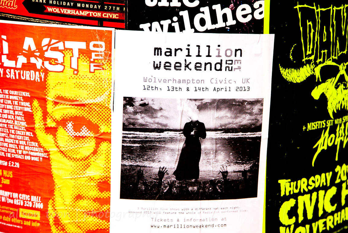 Signs, Marillion Weekend UK, 2013