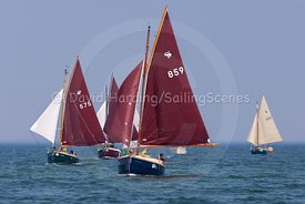 Rascal, Cornish Shrimper 859, Poole Regatta 2018, 20180526525