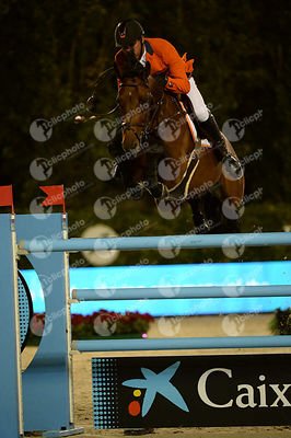 Jeroen DUBBELDAM ,(NED), SFN ZENITH N O P during Furusiyya FEI Nations Cup Jumping Final competition at CSIO5* Barcelona at R...