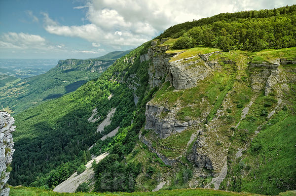 Escarpements calcaires
