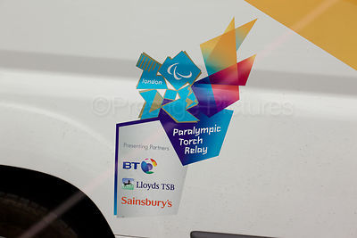 Paralympic Torch Relay Sponsors Sign