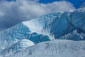 Crevasses near End of Matanuska Glacier