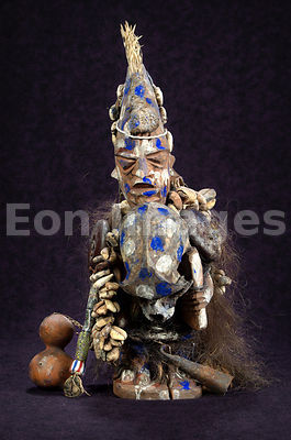 Statue of Shapona West African god of smallpox
