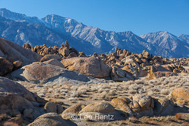 High Sierra and the Alabama Hills