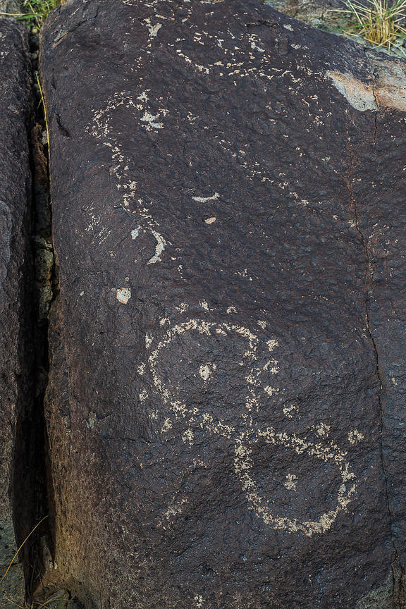 Rock Art at Three Rivers Petroglyph Site