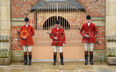 Portraits of Belvoir Hunt Staff and Masters