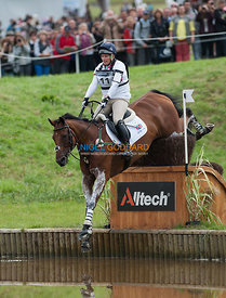Zara Phillips (GBR) & High Kingdom