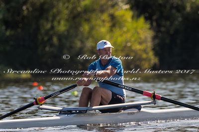 Taken during the World Masters Games - Rowing, Lake Karapiro, Cambridge, New Zealand; Tuesday April 25, 2017:   5077 -- 20170...