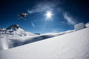 Backcountry kicker with Flo Bastien