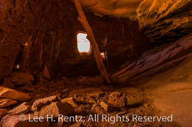 Interior of a Ruin in Road Canyon in Bears Ears National Monument