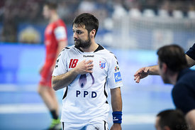 Zlatko HORVAT of PPD Zagreb during the Final Tournament - Final Four - SEHA - Gazprom league, third place match, Varazdin, Cr...