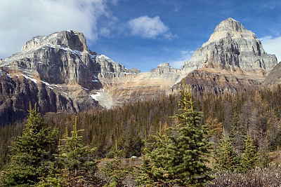 Sentinel Pass, Banff National Park, Canadian Rockies.