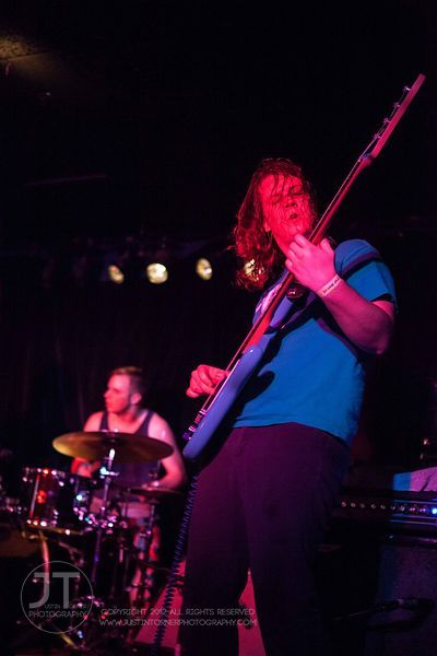 Aulos, local band, Blue Moose Tap House, 211 Iowa Avenue, Iowa City (Justin Torner/Freelance)