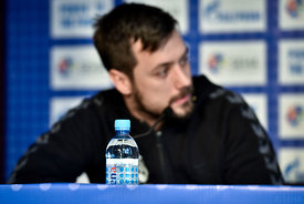 Zlatko HORVAT of PPD Zagreb during the Final Tournament - Final Four - SEHA - Gazprom league, press conference, Croatia, 31.0...
