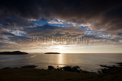 Sun Stting over the West Coast - Landscape Photography