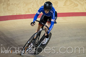 Junior Women Sprint Qualification. Ontario Track Provincial Championships, March 5, 2016