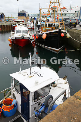 Stromness harbour, West Mainland, Orkney Isles, United Kingdom