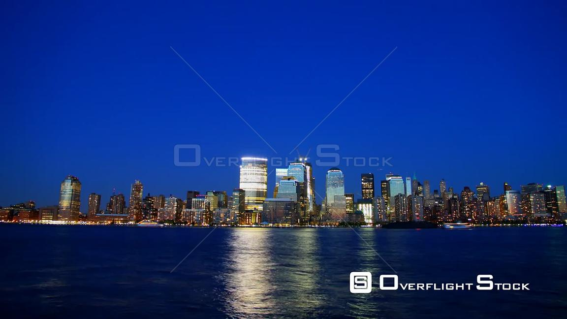 Day to Night Time Lapse for New York City