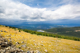 MOUNT EVANS ROAD SCENIC BYWAY COLORADO ROCKIES