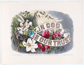 In God is our trust c 1874