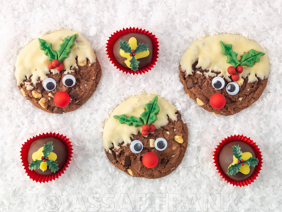 Assaf Frank Photography Licensing Christmas Pudding Cookies
