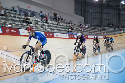 Women Keirin 1-6 Final. Canadian Track Championships, Mattamy National Cycling Centre, Milton, On, September 26, 2016