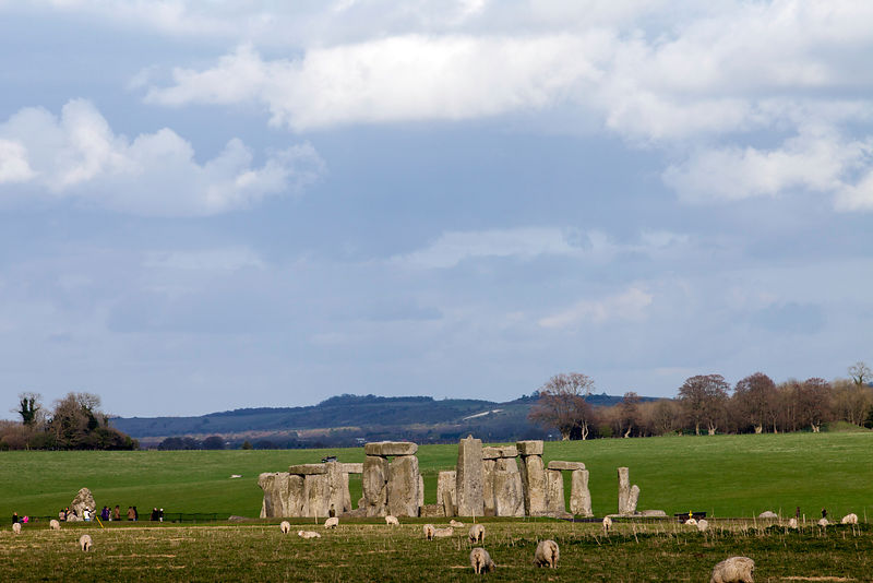 UK - Wiltshire - Stonehenge