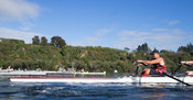 Taken during the World Masters Games - Rowing, Lake Karapiro, Cambridge, New Zealand; ©  Rob Bristow; Frame 1330 - Taken on: ...