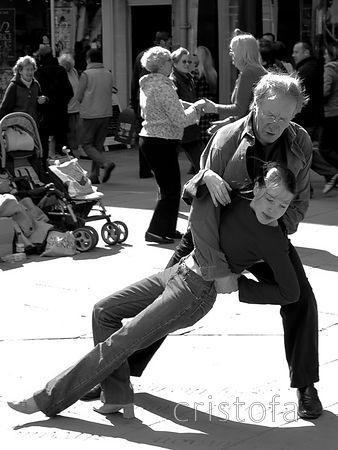 street dancing in Bath