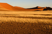 scenery in the Namib-Naukluft National Park near Sesriem, Namibia
